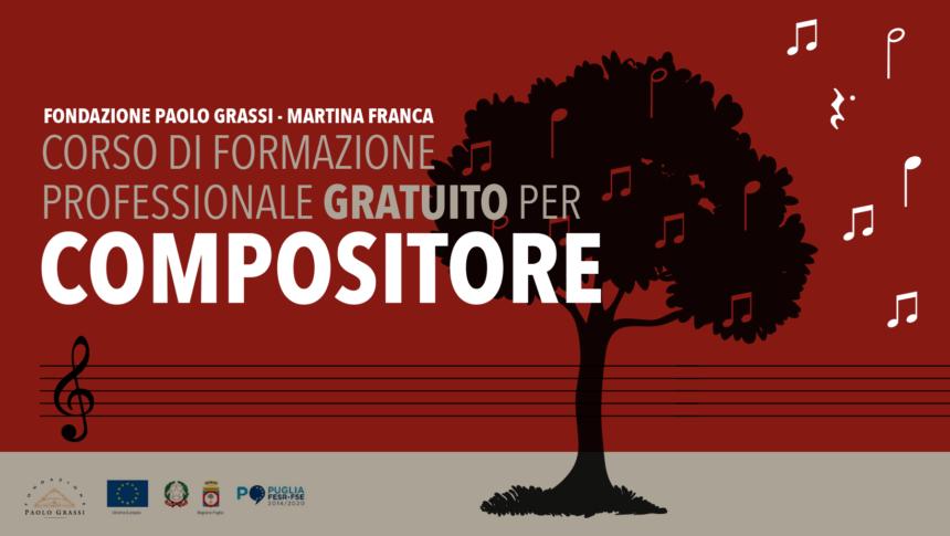 Corso di formazione professionale gratuito per compositore